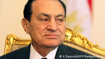 Porträt von Husni Mubarak (Foto: AFP)