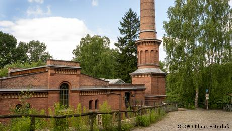 Old water plant (photo: Klaus Esterluss)