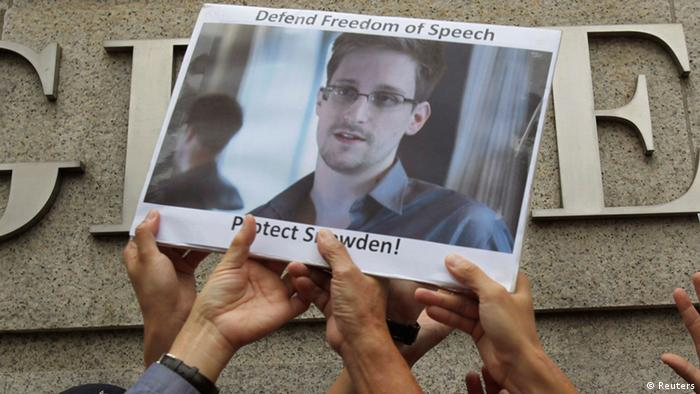Edward Snowden (Foto: Reuters)