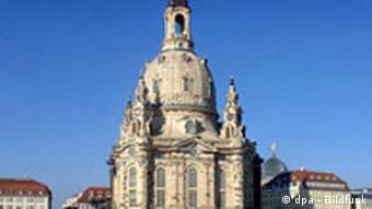 Dresdner Frauenkirche - Kuppelausmalung vollendet