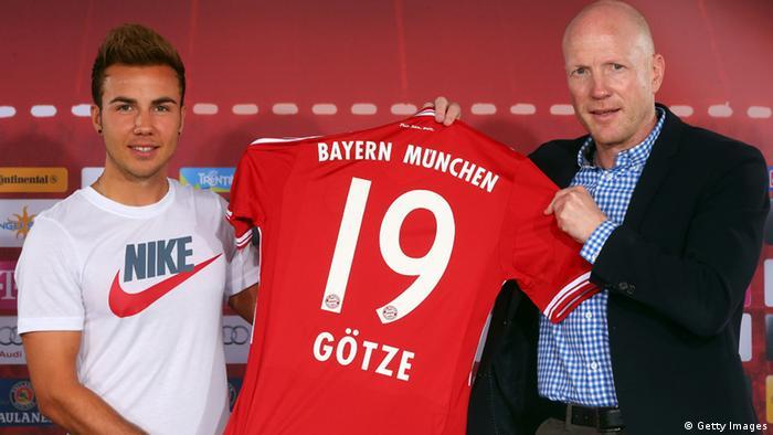 Mario Götze beim FC Bayern