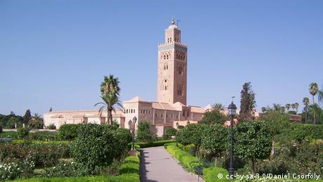 Koutoubia Moschee in Marrakech (cc-by-sa-3.0/Daniel Csörföly)