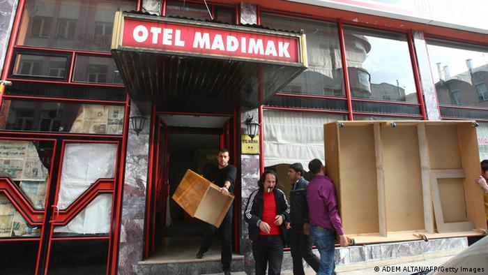Brandanschlag von Sivas Madımak Hotel (ADEM ALTAN/AFP/Getty Images)