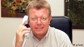 Dr Ronald Meinardus, Direktor des Büros der Friedrich Naumann Stiftung in Kairo