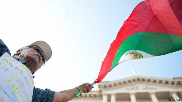 Opposition Protest in Bulgarien