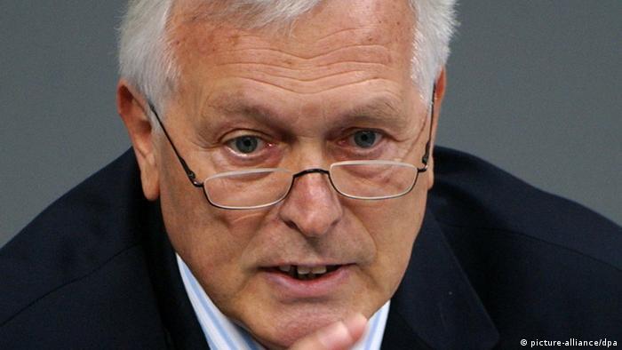 Bernd Schmidbauer (CDU), früherer Geheimdienst-Koordinator