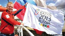 Russland Logo der Universiade 2013