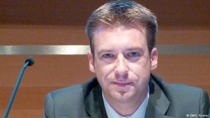 Bernhard Beck, Geschäftsführer von BELECTRIC Solarkraftwerke GmbH. in Süddeutschland.