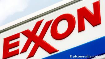 Exxon Logo in New York