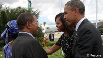 Tansania USA Präsident Barack Obama Abreise von Daressalam