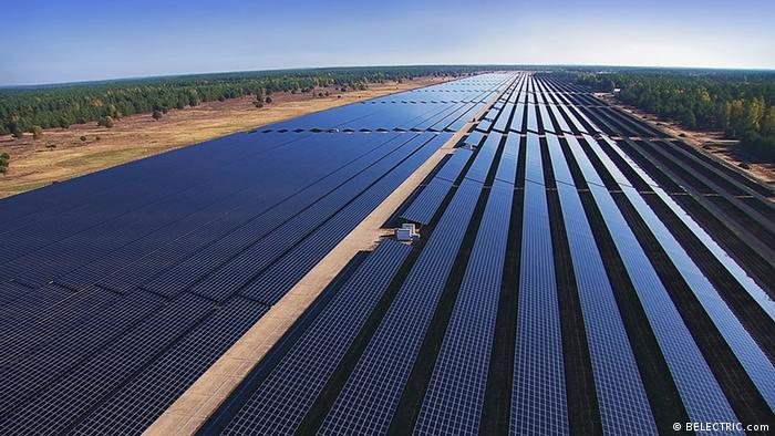 Templin solar park in eastern Germany