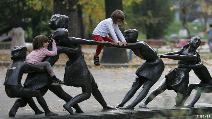 Kinder in Sofia