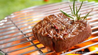 Steak auf Grill