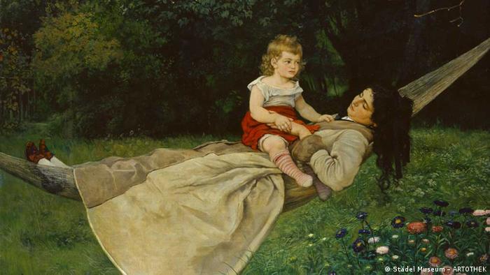 На выставке Ганс Тома. Любимый художник немецкого народа