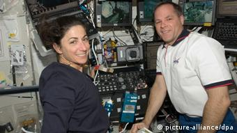 Arbeit in der Raumstation ISS Kevin Ford