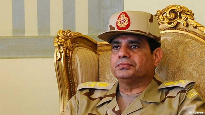 Ägyptens Verteidigungsminister Abdel Fattah al-Sisi