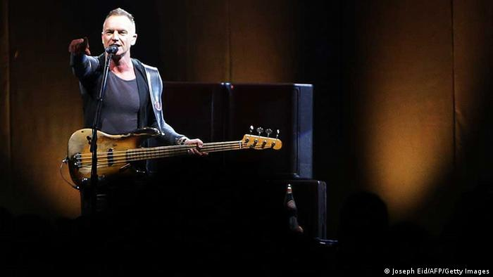 Sting (Joseph Eid/AFP/Getty Images)