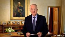 Belgiens König Albert tritt ab