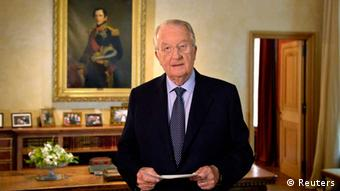Belgium's King Albert II Philippe on July 21, 2013. (Photo: REUTERS/Eric Lalmand/Pool)