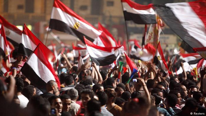Demonstranten auf dem Tahrir-Platz in Kairo (Foto: Asmaa Waguih)