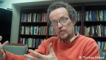 El filósofo alemán Thomas Pogge, director del Programa de Justicia Social en la Universidad de Yale.