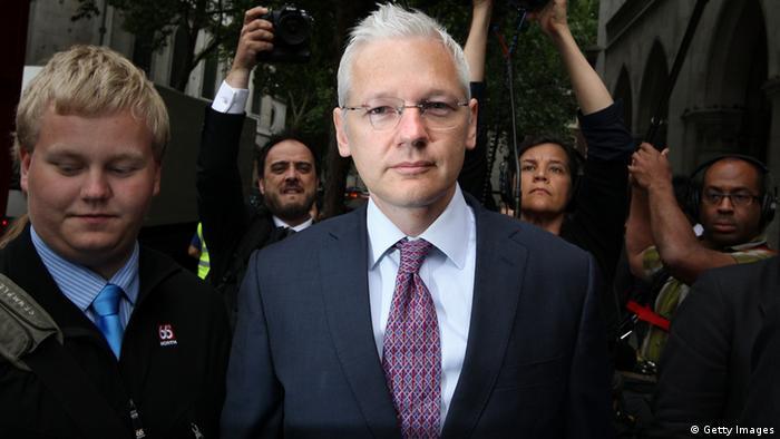 Sigurdur Thordarson und Julian Assange