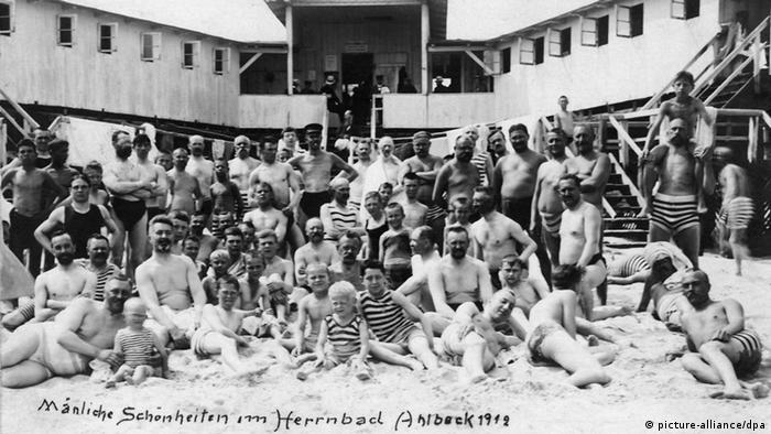 Пляж. 1912 год