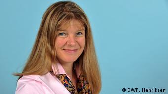 Astrid Prange, periodista de DW.