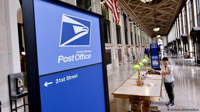 USA Post USPS Briefverkehr Kontrolle Registrierung (picture-alliance/dpa)