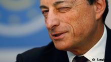 EZB Mario Draghi PK in Frankfurt 04.07.2013
