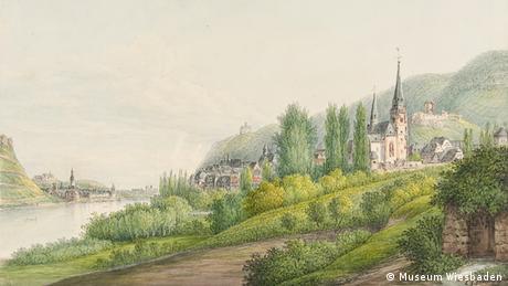 Christian Georg Schütz der Vetter, Bingen, 1818 © Museum Wiesbaden