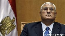 Ägypten Mursi Nachfolger Adli Mansour