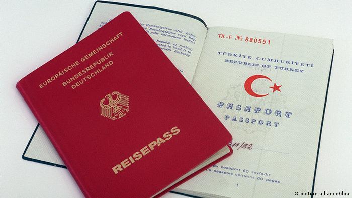 Паспорта Турции и Германии