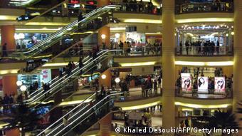 Соврменный шопинг-центр в Каире