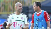 Claudio Azurro und Pep Guardiola