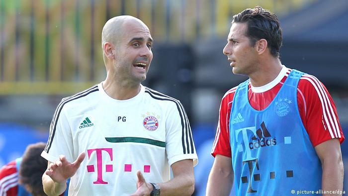 Al llegar al Bayern Pep Guardiola se encontró con Claudio Pizarro en un club que el peruano conocía a la perfección.