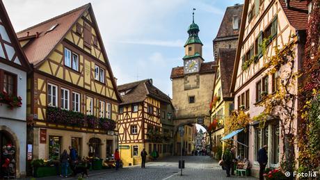 Die Altstadt von Rothenburg