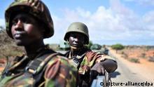 Kismayo Somalia Soldaten