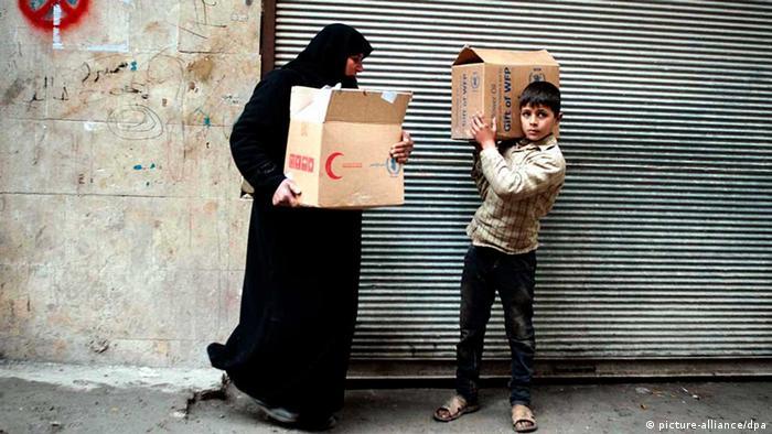 Lebensmittel in Syrien werden knapper