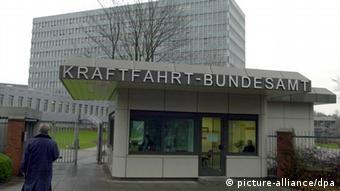 Kraftfahrt-Bundesamt in Flensburg