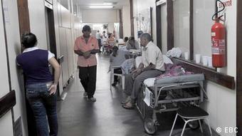 Ein Krankenhaus in Brasilien