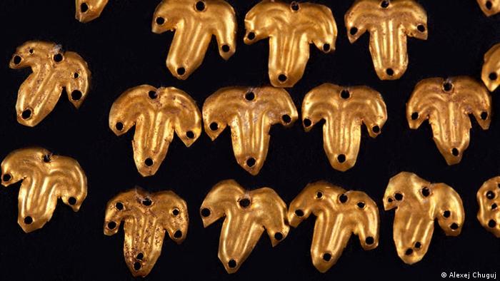 Золотые украшения. I век н.э.