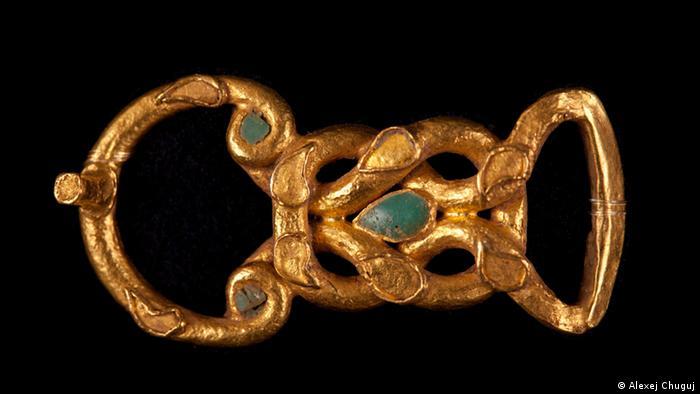 Один з експонатів скіфського золота