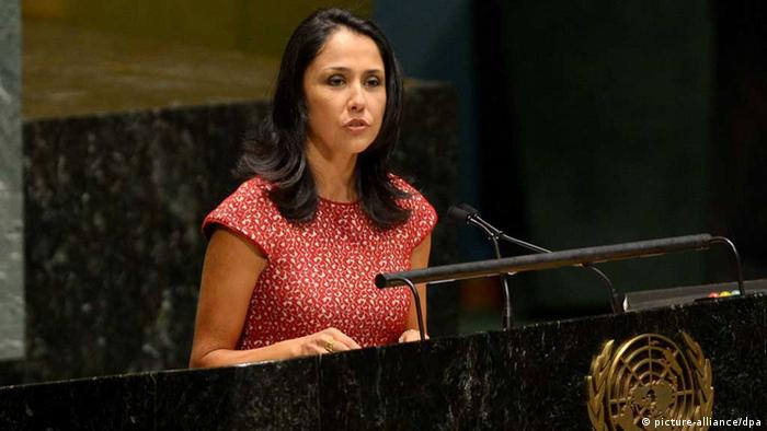 Nadine Heredia de Humala (picture-alliance/dpa)