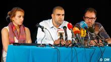 Tunesien Pressekonferenz Tamarod