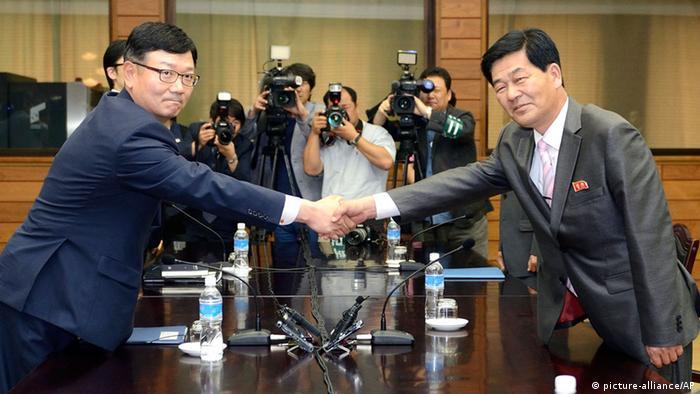 Nordkorea Südkorea Gespräche über Kaesong 06.07.2013 (picture-alliance/AP)