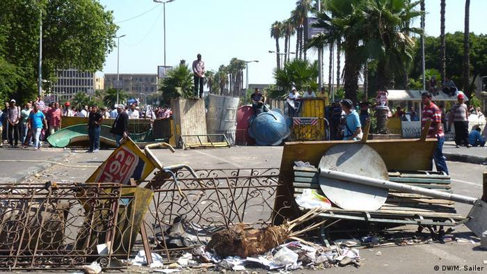 Proteste von Mursi Anhängern in Ägypten nach Sturz des Präsidenten 05.07.2013