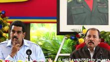 Nicaragua Präsident Daniel Ortega Venezuela Präsident Nicolas Maduro