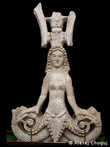 ''Змееногая богиня'' - один из символов античного Крыма