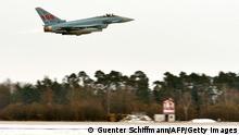 Deutschland Bundeswehr Eurofighter Kampfjet